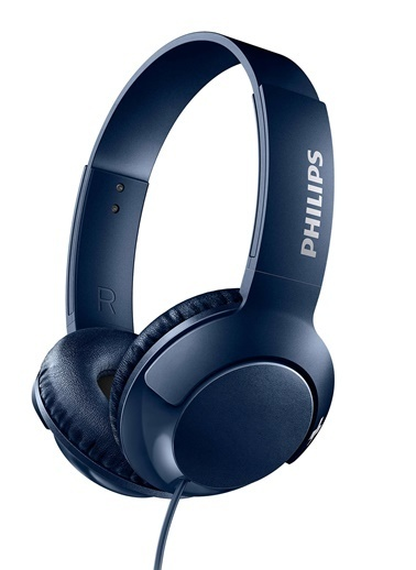 Philips SHL3070WT/00 Bass+ Kulaküstü Kulaklık Mavi